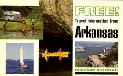 Free! Travel Information From Arkansas Postcard