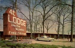 The 4-C Lodge And Restaurant Postcard
