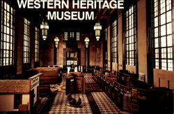 Western Heritage Museum, 801 South 10th St. Postcard