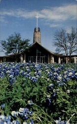 Bluebonnets At St. Luke's On The Lake Episcopal Church