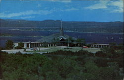 St. Luke's On The Lake Episcopal Church Postcard