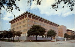 Business Administration Economics Building, University Of Texas Postcard