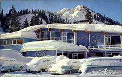 World Famous Squaw Valley Lodge, Squav Valley Postcard