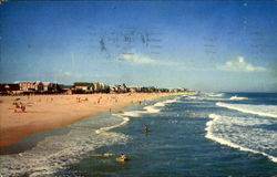 View Of Ocean City's Unsurpassed Clean White Beach