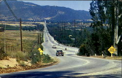 Sand Canyon Road And Yucaipa Blvd Postcard