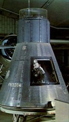 Original Mercury Spacecraft Freedom 7