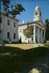 The Lafayette County Courthouse Postcard