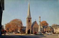 St. Andrews Episcopal Church, Walnut Street Postcard