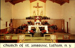 Church Of St. Ambrose, 347 Old Loudon Road Postcard