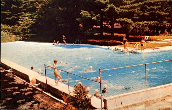 Pool Camp Andree Clark Briar Cliff Manor New York