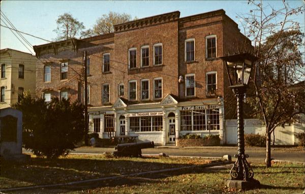 The Treasure Shop On The Village Green Kinderhook Ny