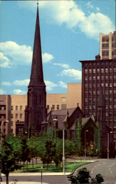 St. Paul's Episcopal Cathedral Church, Main Street Buffalo New York