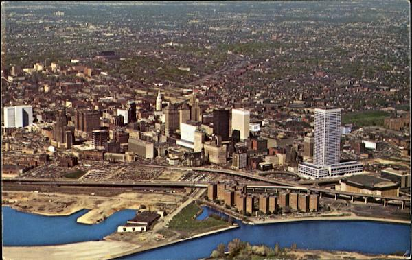 Aerial View Of Buffalo New York