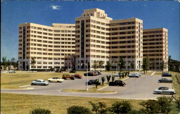 The 14 Story Veterans Administration Hospital Albany New York