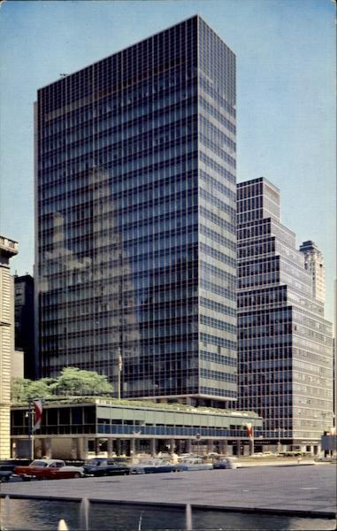 Lever House, Park Avenue 53rd and 54th Streets New York City