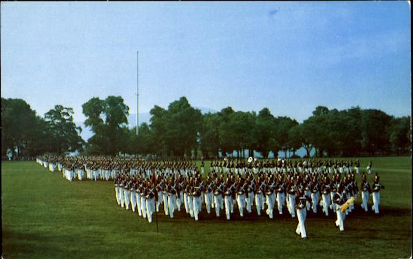 Cadet Parade West Point New York