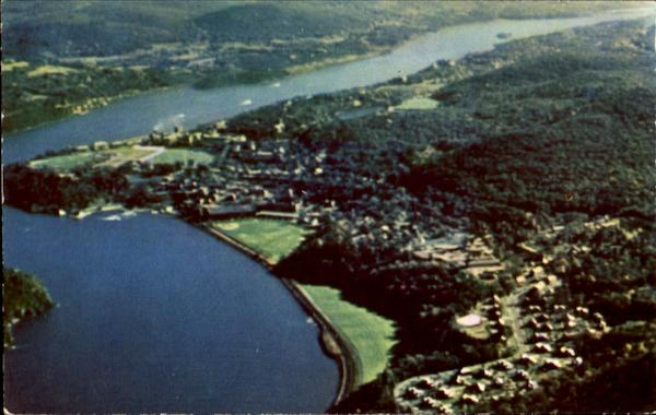 Aerial View Of U. S. Military Academy West Point New York