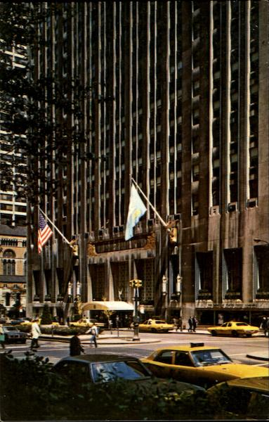 The Waldorf Astoria, Park Avenue At East 50th Street New York City