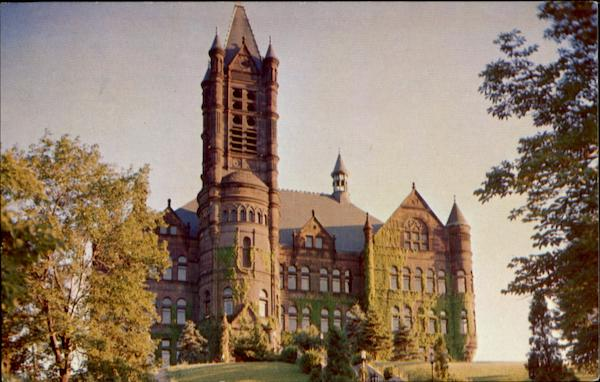 Crouse Memorial Building, Syracuse University Campus New York