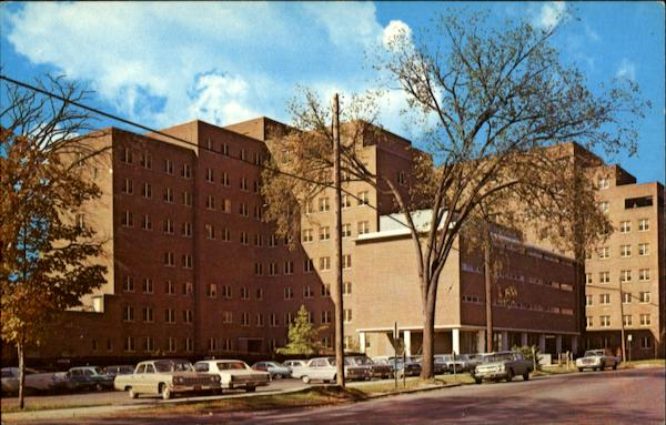 Veteran's Administration Hospital, Irving Avenue Syracuse New York