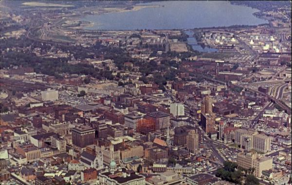 Air View Of The City Syracuse New York