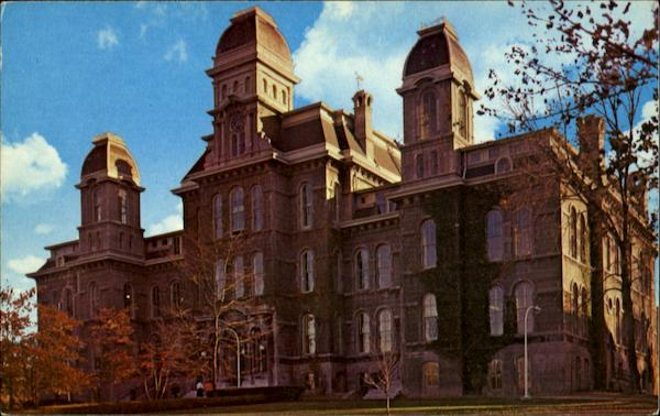Language Arts Building, Syracuse University New York
