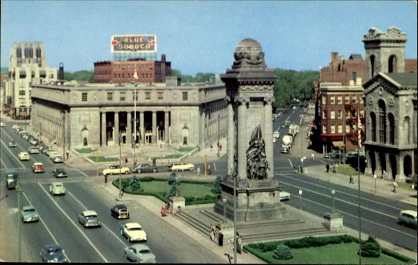 Clinton Square And U. S. Post Office Syracuse New York