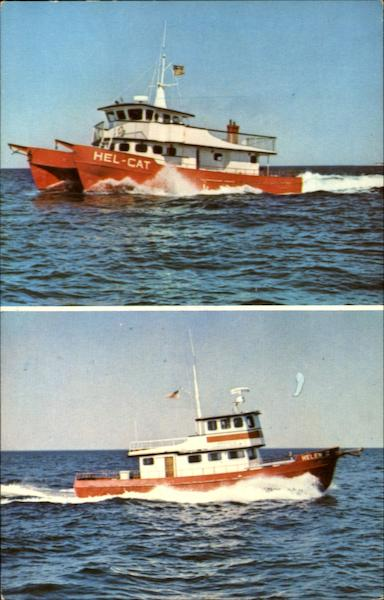 The Hel-Cat Fleet, Montauk Long Island New York