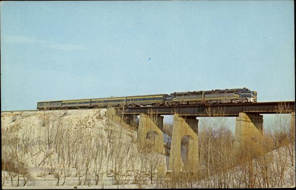 The Laurentian Trains, Railroad