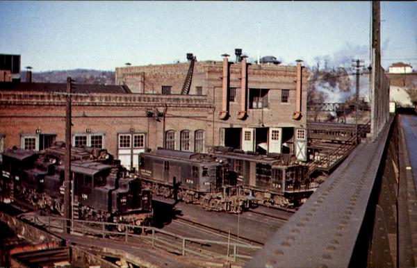 New York Central Trains, Railroad