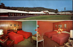 Hickory House Motor Lodge And Restaurant, Rt. 14 - Watkins Glen Rd