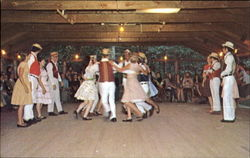 Country Dancing At Pinewoods Camp