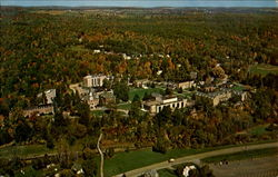 Aerial View Houghton College Campus