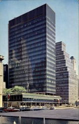 Lever House, Park Avenue 53rd and 54th Streets