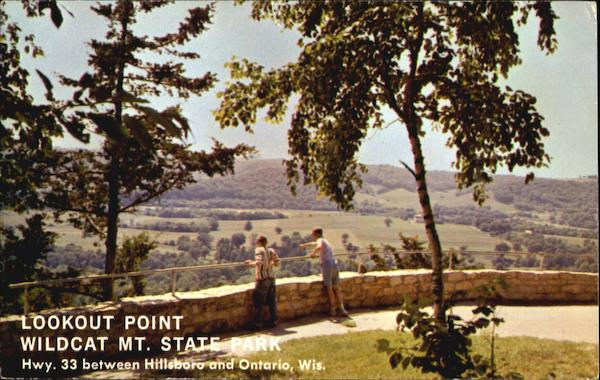 Lookout point wildcat mt state park other wisconsin cities for Point lookout fishing report