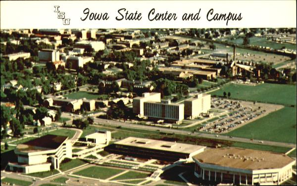 Iowa State Center And Campus Ames