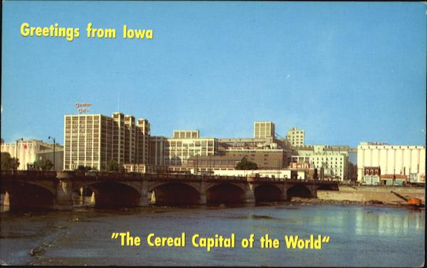 The Cereal Capital Of The World Cadar Rapids Iowa