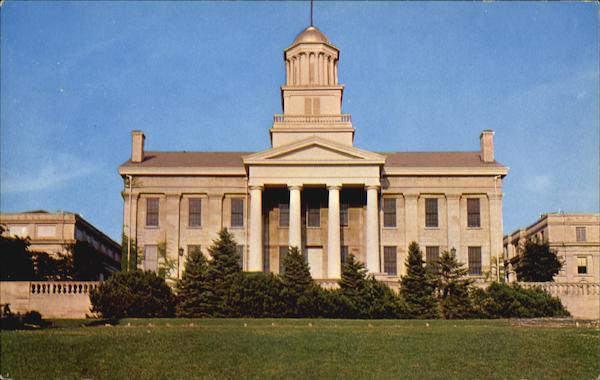 Old Capitol Building, State University Of Iowa Iowa City