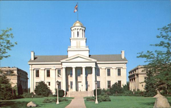 The Old Capitol Building, University of Iowa Iowa City