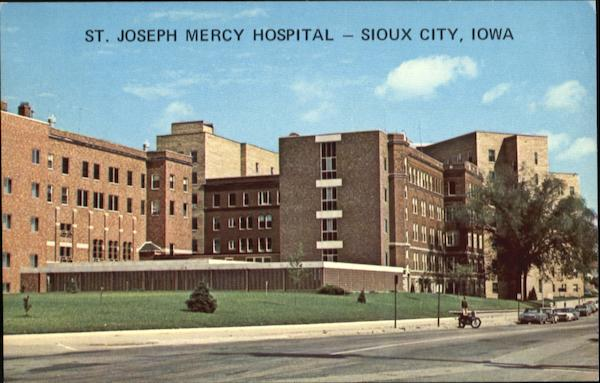 St. Joseph Mercy Hospital, 2101 Court Street Sioux City Iowa