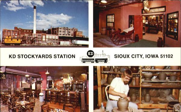 Kid stockyards station u s hwy 20 75 sioux city ia for Craft stores in sioux city iowa