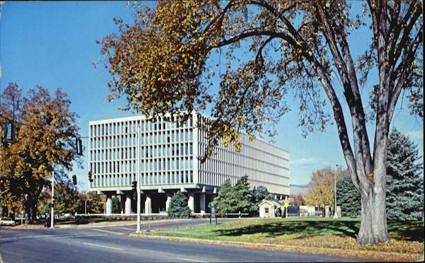 U. S. Federal Building, Fort Street Boise Idaho