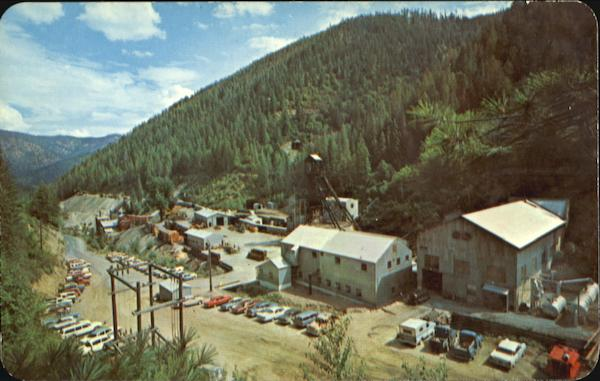 the galena silver mine wallace  id