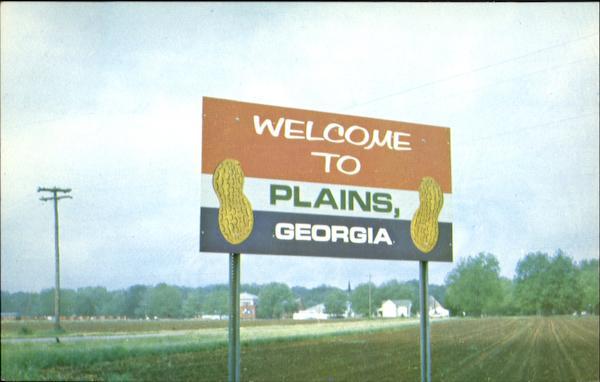 welcome to plains georgia
