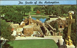 The Grotto Of The Redemption Postcard
