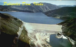 Palisades Dam And Lake, Upper Snake River Valley