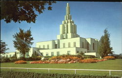 Mormon Temple Postcard