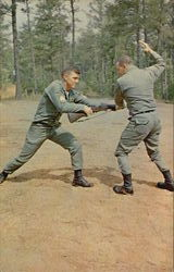 Demonstration Of Hand To Hand Combat