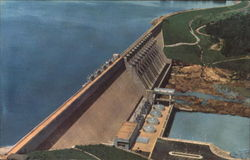 Hartwell Dam And Reservoir