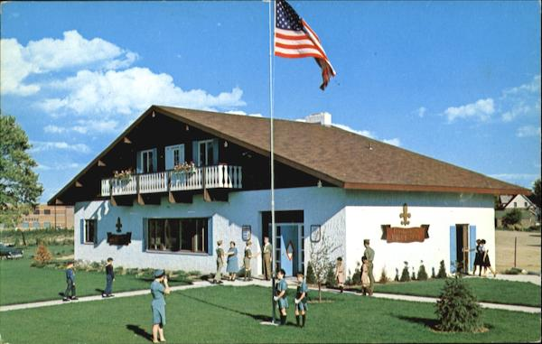 Scout Building Frankenmuth Michigan Boy Scouts